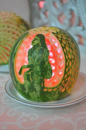 Harrys Creations Ltd - Fruit Sculptures